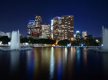Downtown LA Reflecting Pond Stock Images