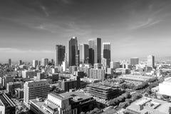 Downtown LA  skyline cityscape California Stock Photos