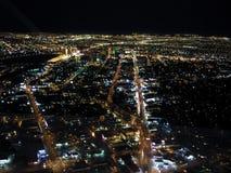 Downtown Las Vegas Night Royalty Free Stock Photos