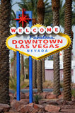Downtown Las Vegas sign Stock Photos