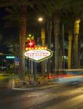The downtown Las Vegas sign at Stock Photos