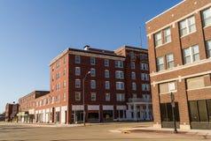 Downtown LaSalle, Illinois. stock images