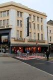 Downtown Limerick, near famous department store,Debenhams, Limerick,Ireland,2014 Royalty Free Stock Photography