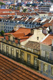 Downtown Lisbon. Buildings in downtown of Lisbon Royalty Free Stock Images