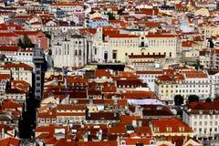Downtown, LIsbon, Portugal Stock Image