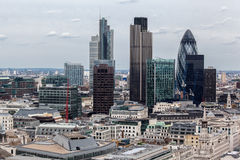 Downtown London Royalty Free Stock Photo