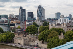 Downtown London Royalty Free Stock Photography