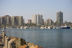 Downtown Long Beach Stock Photography