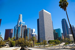Downtown Los Angeles. Heart of Los Angeles Downtown Royalty Free Stock Image