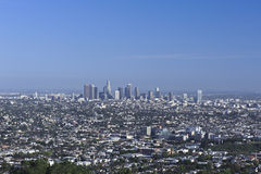 Downtown Los Angeles. A shot of downtown los angeles, california Stock Image
