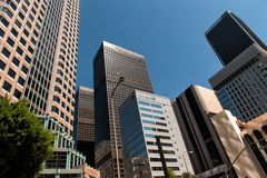 Downtown Los Angeles Stock Image