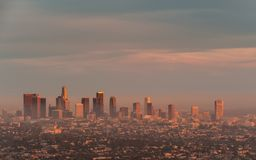 Downtown Los Angeles Royalty Free Stock Images