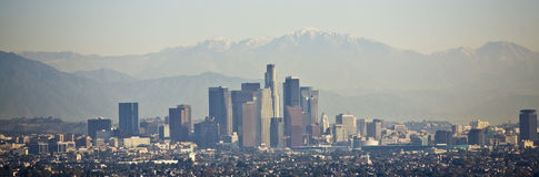 Downtown Los Angeles Royalty Free Stock Photo