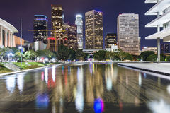 Downtown Los Angeles. Los Angeles, California downtown skyline Stock Image