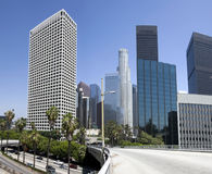 Downtown Los Angeles City Buildings Royalty Free Stock Photography