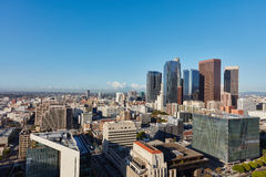 Downtown Los Angeles city skyline Royalty Free Stock Photography