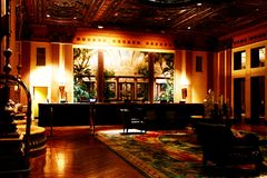 Downtown of Los Angeles,Millennium Biltmore Hotel Stock Photography