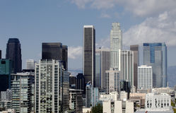Downtown Los Angeles Skyline Royalty Free Stock Image