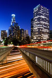 Downtown Los Angeles royalty free stock photos