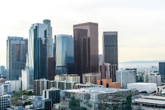 Downtown Los Angeles Skyscrapers Stock Image