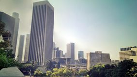 Downtown Los Angeles. View of the downtown of Los Angeles, USA Stock Photo