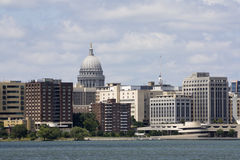Downtown of Madison Royalty Free Stock Photography