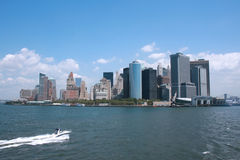 Downtown Manhattan Royalty Free Stock Photos