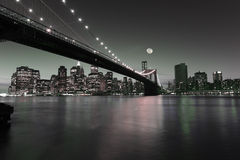 Downtown Manhattan Stock Image