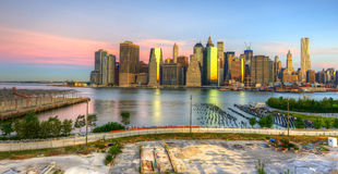 Downtown Manhattan Stock Photography