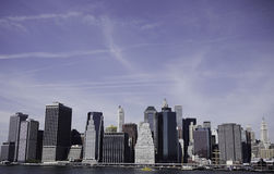 Downtown Manhattan Royalty Free Stock Photo