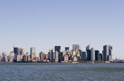 Downtown Manhattan Royalty Free Stock Photography