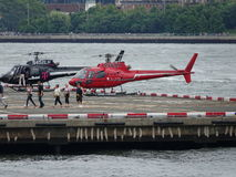 Downtown Manhattan Heliport 38 Royalty Free Stock Images