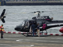 Downtown Manhattan Heliport 37 Stock Image