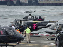 Downtown Manhattan Heliport 29 Royalty Free Stock Photography