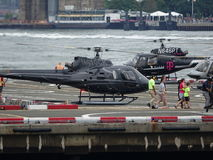 Downtown Manhattan Heliport 26 Royalty Free Stock Image