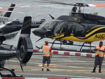 Downtown Manhattan Heliport 24 Stock Images