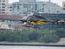 Downtown Manhattan Heliport 23 Royalty Free Stock Image