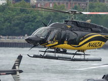 Downtown Manhattan Heliport 21 Royalty Free Stock Image