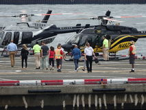 Downtown Manhattan Heliport 17 Stock Image