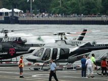 Downtown Manhattan Heliport 13 Stock Photo