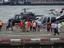 Downtown Manhattan Heliport 12 Royalty Free Stock Photos