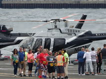 Downtown Manhattan Heliport 10 Stock Image