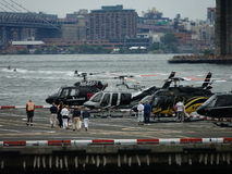 Downtown Manhattan Heliport 8 Stock Image