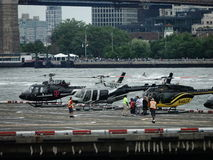 Downtown Manhattan Heliport 7 Royalty Free Stock Photo