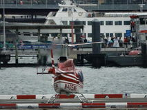 Downtown Manhattan Heliport 4 Royalty Free Stock Photography