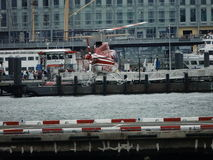 Downtown Manhattan Heliport 5 Stock Photo