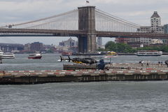 Downtown Manhattan Heliport 67 Royalty Free Stock Photography