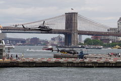 Downtown Manhattan Heliport 65 Stock Image