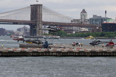 Downtown Manhattan Heliport 63 Royalty Free Stock Photo