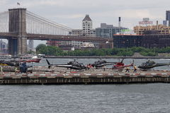 Downtown Manhattan Heliport 61 Royalty Free Stock Images